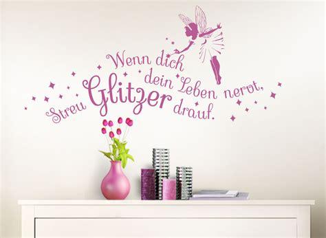 Wandtattoo Kinderzimmer Spruch by Wandtattoo Spruch Wenn Dich Dein Leben Nervt Mit Fee