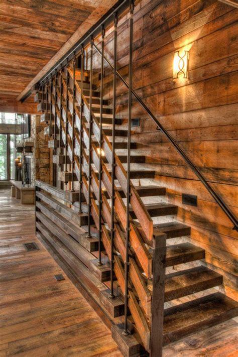 elegant rustic staircase designs  inspire  interior god