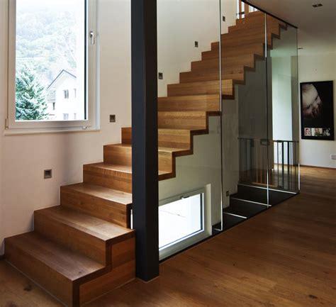 Escalier Moderne by Escalier En Bois Moderne Marche Et Contremarche Avec Garde