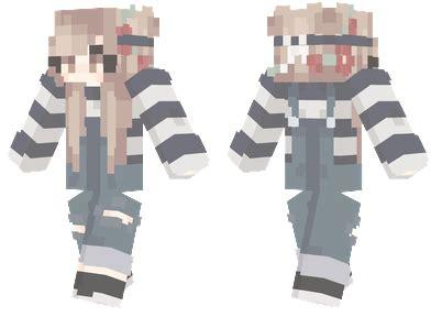cute flower girl minecraft skins