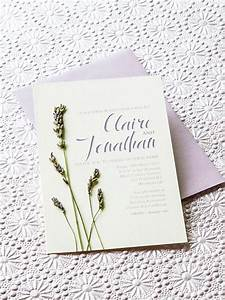 lavender diy wedding invitations modern wedding With lavender themed wedding invitations