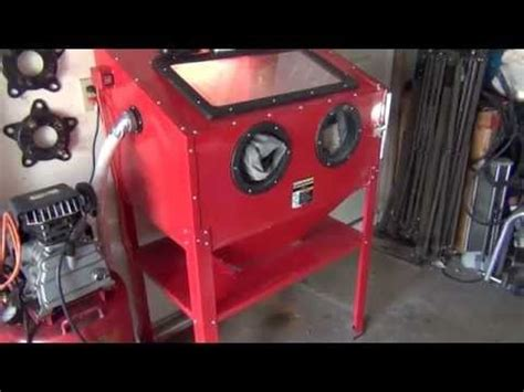 central pneumatic blast cabinet 42202 71 best images about sand blasting on