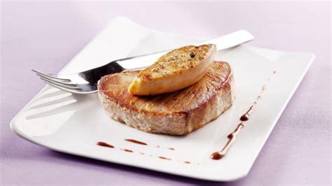 cuisiner thon recette steak de thon rossini grand veneur chocolat