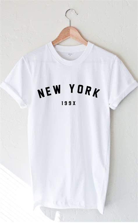 new york 199x t shirt stylecotton