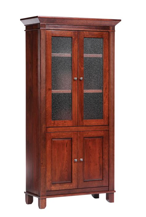 Book Cabinets With Doors by Arlington Book Shelves With Doors Ohio Hardword