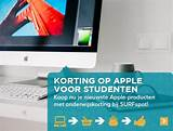 apple imac onderwijskorting