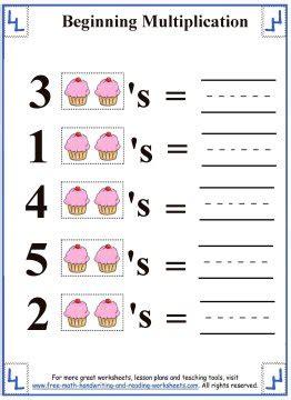 multiplication for kids beginning multiplication worksheets
