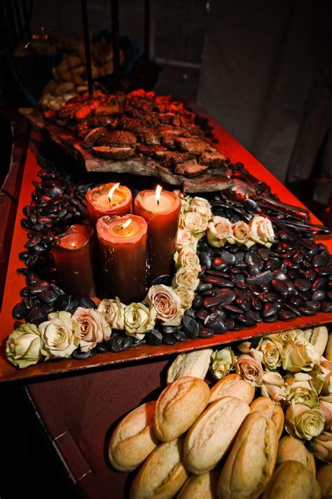 carving station  beef tenderloin wedding food stations