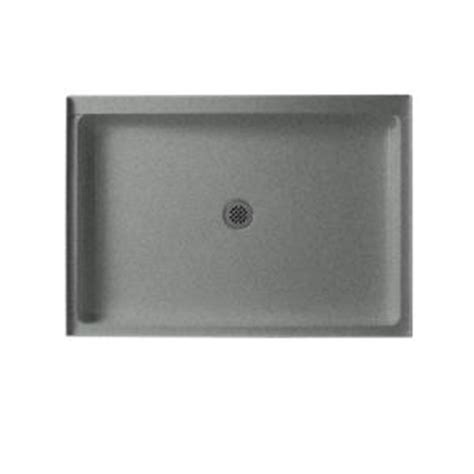 swan 34 in x 48 in solid surface single threshold shower