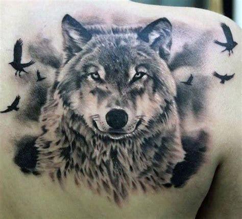 tatouages loup  meilleures idees  leur signification