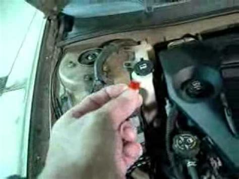replace  chevy impala windshield washer pump fuse