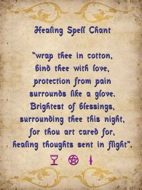 light magic spells healing spell chant light a white candle and chant this
