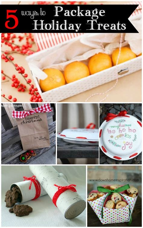 easy ways  package holiday treats infarrantly creative