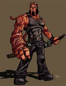 Hellboy by WesTalbott on DeviantArt