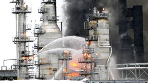 Fire Crews Respond To Blaze At Washington Bp Refinery