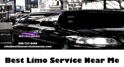 Limo Places Near Me by Best Limo Service Near You Is A Great Way To