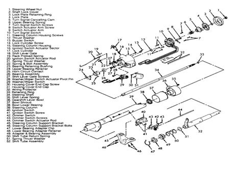 Chevy Steering Column Wiring Diagram by 1994 Chevy 2500 Truck Steering Column Diagram Wiring Forums