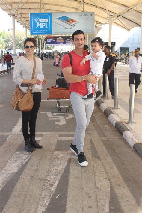Isha Koppikar With Husband Timmy Narang And Their Daughter