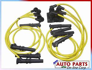 Spark Plug Wires   1 Ignition Coil Crown Victoria F