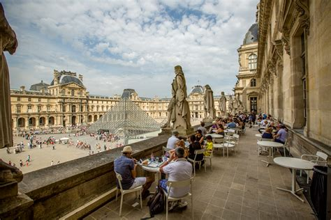 designer outdoor tables where to eat at the louvre eater