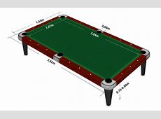 Snooker Table Dimensions Metric Brokeasshomecom