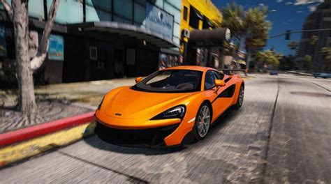Mclaren 570s Modification by Gta 5 Mclaren 570s Vorsteiner 2016 17 Add On Unlocked
