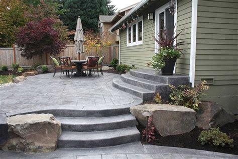 concrete patio ideas how to build concrete patio in 8 easy steps diy slab