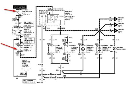2006 Ford Duty Radio Wiring Diagram by I A 1999 Ford F 250 Duty V10 Gas The Dash And