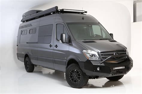 Fully Self Containd 4x4 Sprinter Van Able To Take You Were