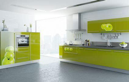 cuisine gris et vert aménagement déco cuisine vert et gris