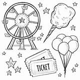 Coloring Ferris Wheel Epic Pages Fun sketch template
