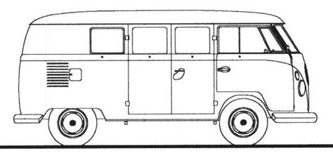 volkswagen old van drawing how to draw a volkswagen bus google search volkswagen