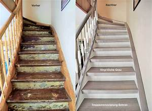 Alte Holztreppe Sanieren : treppenrenovierung arnstadt vinyl grau flur in 2019 pinterest treppe haus treppe und haus ~ Frokenaadalensverden.com Haus und Dekorationen