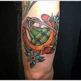 Skeleton Hand Grenade Tattoo | 636 x 619 jpeg 58kB