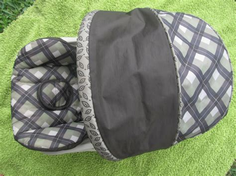 Replacement Car Seat Cover + Canopy -infant Car Seat- Baby