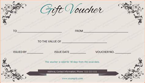 gift voucher template bookletemplateorg
