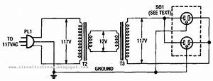 Build A Inexpensive Isolation Transformer Circuit Diagram