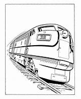 Coloring Train Pages Caboose Cars Popular sketch template