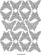 Detailed butterflies d...