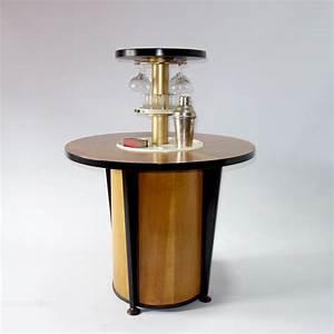 Art Deco 'surprise' Drinks Table Cocktail Bar