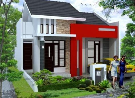 berikut contoh gambar rumah minimalis  lantai  pagar