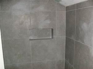 Niche De Douche : un exemple de salle de bain am lioration breizh logement ~ Premium-room.com Idées de Décoration