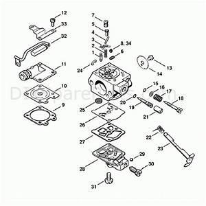Stihl Ms 260 Pro Parts Diagram