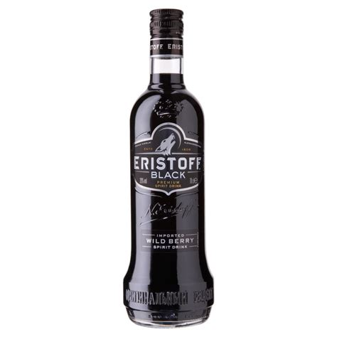 what is black vodka eristoff black 70cl drinksupermarket
