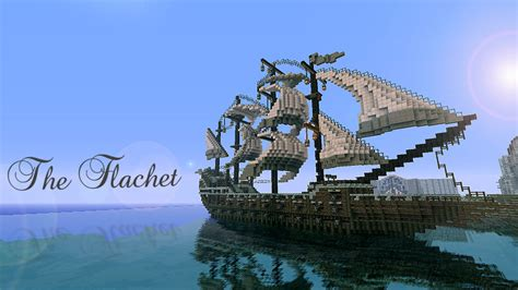 flachet medieval galleon   minecraft project