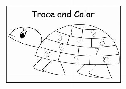 Numbers Traceable Worksheets Printable Activity