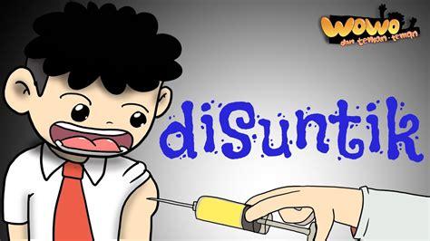 Kartun Lucu Wowo di Imunisasi Animasi Indonesia