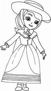 Sofia The First Coloring Pages  Great Aunt