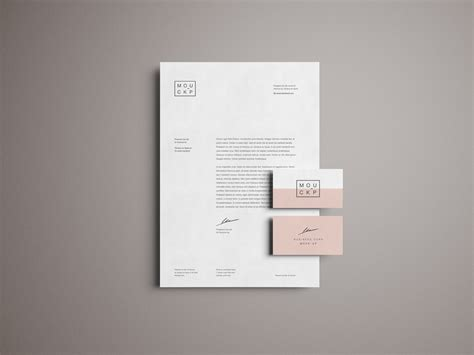 Advanced Branding & Stationery Psd Mockup Business Letters Handbook Pdf For Students Different Types Cards Design Images Letter Modified Block Style Greeting Line Company In Zimbabwe