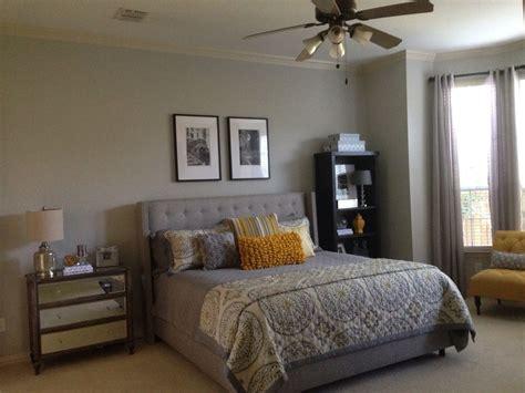 grayfrench yellow bedroom sherwin williams repose gray